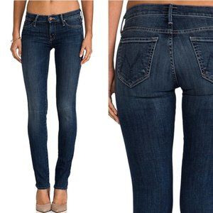 MOTHER The Rascal Skinny Jeans Sz 25